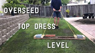 Download Lawn Rejuvenation Part 2of4 - OverSeed, Top Dress, & Level Video