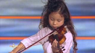 Download Miyu 7 ans, violoniste, joue ″L'Adagio d'Albinoni″ - Prodiges Video