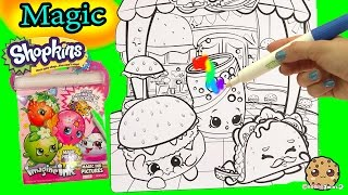 Download Shopkins Imagine Ink Rainbow Color Pen + Disney Princess Surprise Pictures Books Video