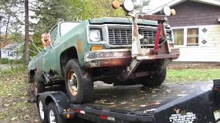 Download Saving a 1973 Chevy K20 Truck Video