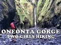 Download Oneonta Gorge, Columbia River Gorge, Oregon | Two Girls Hiking Video