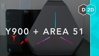 Download Gaming PCs: Lenovo Ideacentre Y900 + Alienware Area-51 Video