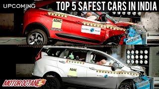 Download Top 5 Safest Cars in India | Hindi | MotorOctane Video