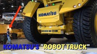 Download Komatsu's 186 ton ″Robot truck″ Video