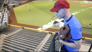 Download Catching my 9,000th baseball at Chase Field Video