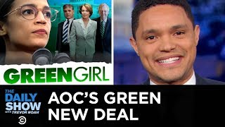 Download Conservatives Slam Alexandria Ocasio-Cortez's Green New Deal | The Daily Show Video