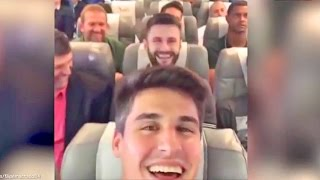 Download Brazilian Football Team Plane Crash Last Video Onboard #FilipeMachado #ForçaChape #Chapecoense Video