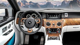 Download Rolls Royce Cullinan INTERIOR Review Video SUV Rolls Royce Bespoke INTERIOR 2019 Video