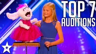 Download The Best Top 7 AMAZING Auditions | America's Got Talent 2017 Video