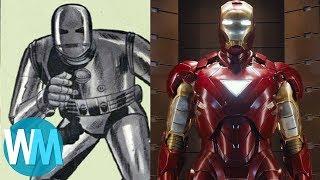 Download Top 10 Superhero Costume Revamps Video