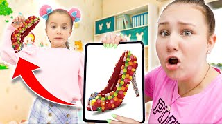 Download Ruby & Bonnie Pretend Play Selling Candy Shoe Video