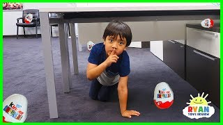 Download Ryan plays Hide and Seek in the new office + NEW CHANNEL The Studio Space Video