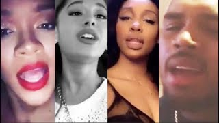 Download Celebrities singing with their REAL VOICE (Rihanna, Ariana Grande, SZA, Chris Brown, and more) Video