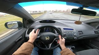 Download 2007 Honda Civic 1.8L (140) POV Test Drive Video