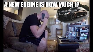 Download Hydrolocked C63s Update! Dealing With Insurance - My Brand New Car is Totaled !? Video