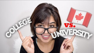 Download How to | College vs. University| Studying in Canada Video