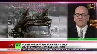 Download This Means War? N.Korea fights back South-US drills with ceasefire scrap Video