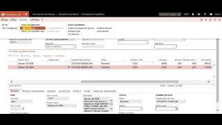 Download Automatic Purchase Order Creation based on Purchase Requisition – AX 7 Video