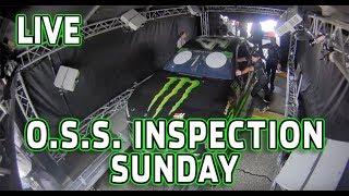 Download LIVE: (Sunday) NASCAR OSS Inspection from Kansas Video