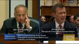 Download Steve King questions Strzok on Hillary interview Video