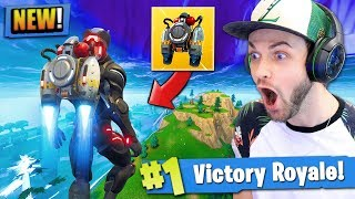 Download *NEW* JETPACK GAMEPLAY in Fortnite: Battle Royale! (LEGENDARY) Video