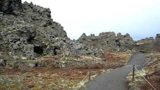 Download Dimmuborgir lava field, Iceland Video