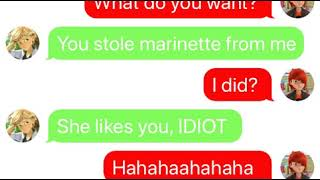 Download Adrien gets JEALOUS?!?! Does Marinette like Nath?! || Miraculous Texting Story Video