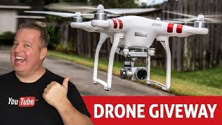 Download DJI Phantom 3 Drone Giveaway! How to do Contests & Giveaways on YouTube Video