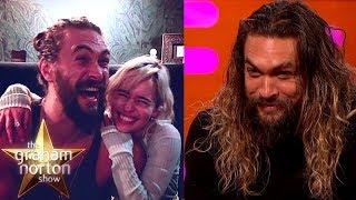 Download Jason Momoa Goes Crazy When He Sees Emilia Clarke   The Graham Norton Show Video