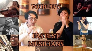 Download The World's FASTEST Musicians Video