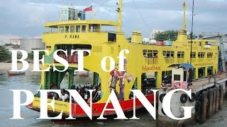 Download Best of Penang - Ferry Ride From Butterworth To Penang Island HD Video
