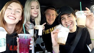 Download DAVIDS FIRST TIME AT STARBUCKS!! Video