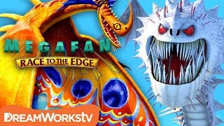 Download Top 10 NEW Dragons from Beyond Berk | MEGAFAN: RACE TO THE EDGE Video
