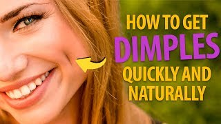 Download How To Get Dimples Quickly to Make Everyone Go Awww Video