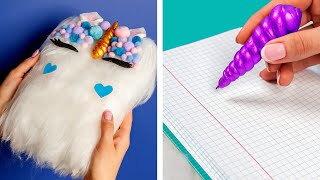 Download 10 Fun DIY School Supplies! School Hacks and More! Video