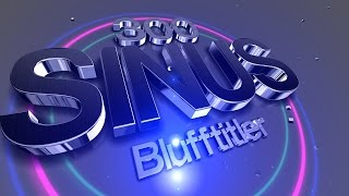 Download Blufftitler + Templates +SINUS 300 Video