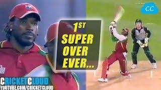 Download Best Super Over | Super Gayle Storm | 1st Super Over Ever in T20 Cricket !! Video