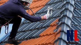 Download World of Amazing Modern Roofing Technology with Skilful and Creative Workers Video