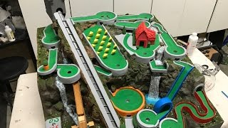 Download Mini Golf Marble Machine Build, Part 23 (Finale with a Splash) Video