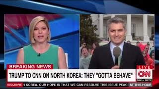 Download Kid Yells ″Fake News″ to CNN Reporter Live on Air Video