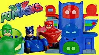 Download PJ MASKS Headquarters HQ Playset with Owlette, Catboy & Gekko! Video