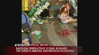 Download 12 Dead, 80 Injured In Barcelona Attack Video