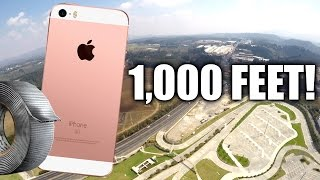 Download Can Duct Tape Protect iPhone SE from 1,000 Feet DROP TEST?!! Video