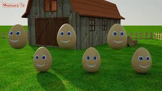 Download Учим цвета Разноцветные яйца на ферме Развивающий мультик для детей Video