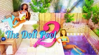 Download DIY - How to Make: Doll Swimming Pool 2 - Handmade - Doll - Crafts Video