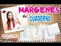 Download VUELTA A CLASE: Márgenes para cuaderno!!!-Super fácil Video