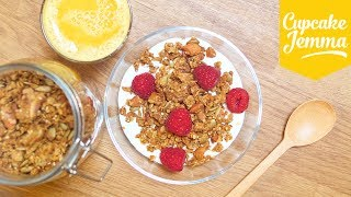 Download How to Make Granola Two Ways: Delicious and Low-Sugar | Cupcake Jemma Video