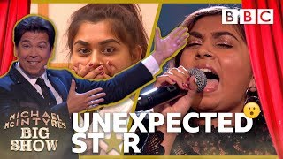 Download Unexpected Star: Sanjna - Michael McIntyre's Big Show: Episode 3 - BBC One Video