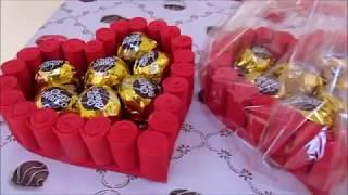 Download Porta bombom coração Video