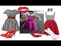 Download Пошив детского платья в стиле 80-х. Выкройка. Video